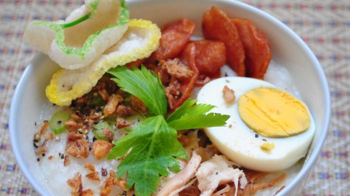 Resep Bubur Ayam Kuah Kuning, Menu Sarapan Lezat di Pagi Hari