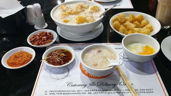 Bubur Kwang Tung, kuliner malam di Jakarta