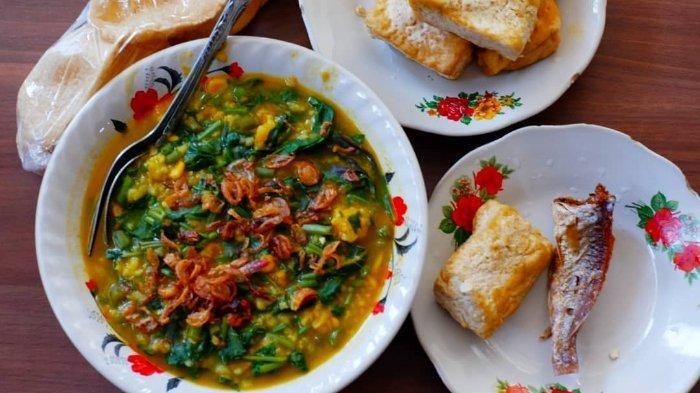 Resep Bubur Manado, Hidangan Kaya Sayuran yang Biasa Disajikan dengan Sambal Ikan Roa