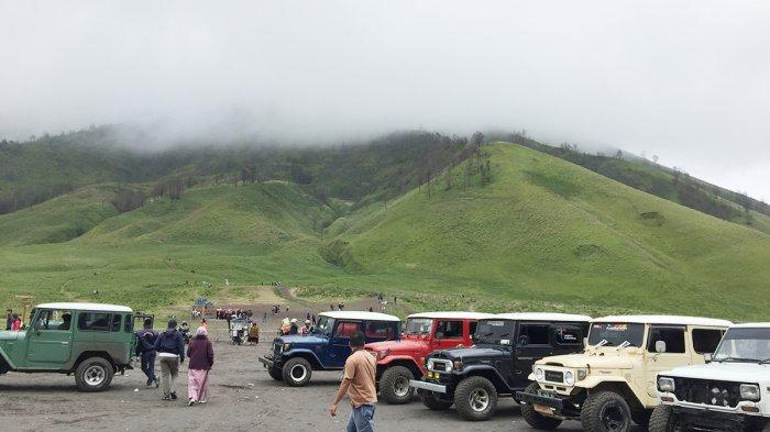 Bukit Teletubbies, Padang Sabana yang Terhampar Luas di Kawasan Gunung Bromo