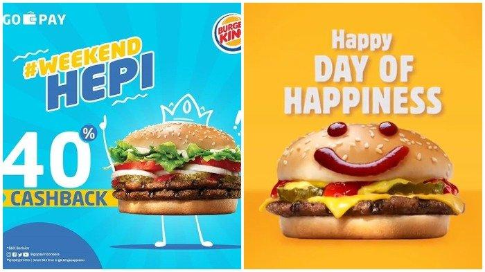 Promo Burger King April 2019 Dapatkan Cashback Hingga 40 Persen Melalui Gopay Cek Ketentuannya Tribun Travel