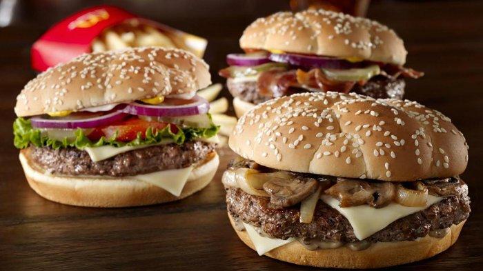 Ilustrasi Burger McDonald
