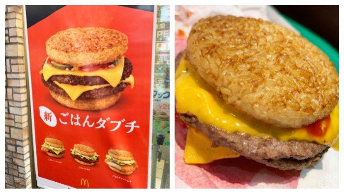 Burger Nasi ala McDonald's Jepang yang Lagi Hits, Seperti Apa Rasanya?