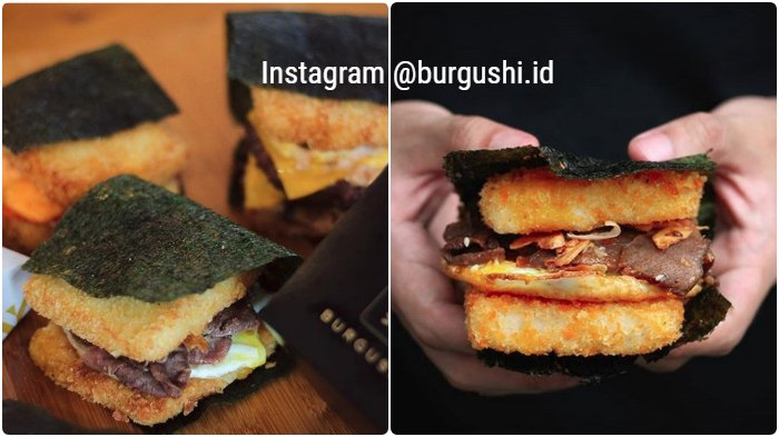 Burgushi - Bingung Pilih Burger atau Sushi? Fusion Unik Ini jadi Solusinya