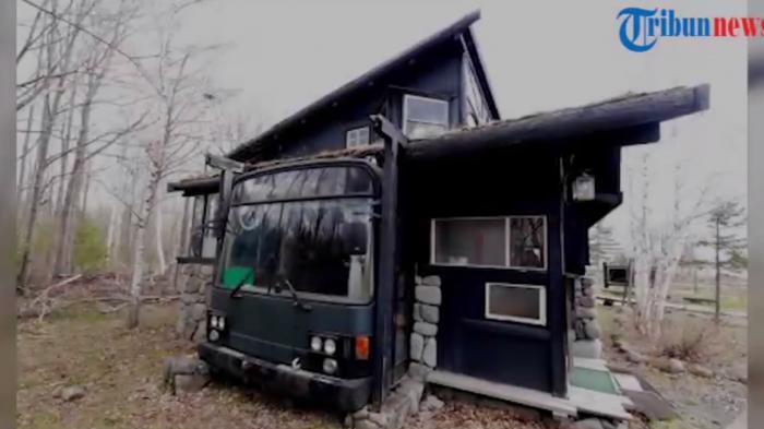 VIDEO: Harga Tanah dan Rumah Mahal, Warga Jepang Ubah Bus Bekas Jadi Hunian Nyaman
