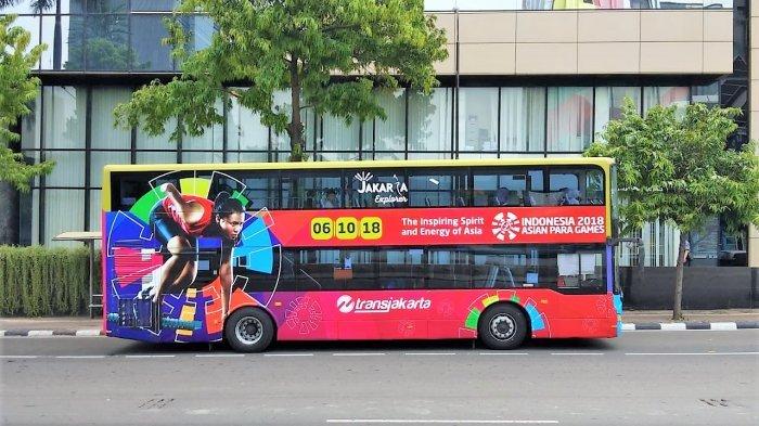 Transjakarta Gratiskan Semua Layanan di Sabtu dan Minggu Selama Asian Para Games 2018