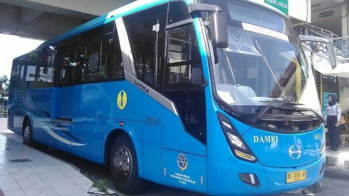Daftar Tarif dan Jadwal Bus Damri di Bandara YIA Kulon Progo