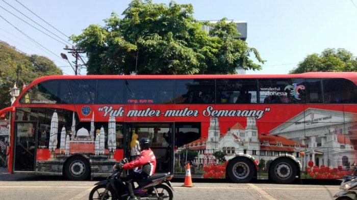 Asyik! Kini, Bisa Keliling Gratis Kota Semarang dengan Bus Tingkat, Simak Rutenya