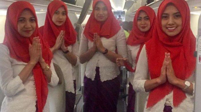 Keren, Karena Hal Ini Lion Air Group Saat Ini Siapkan Busana Hijab tuk Para Pramugari Rute Aceh