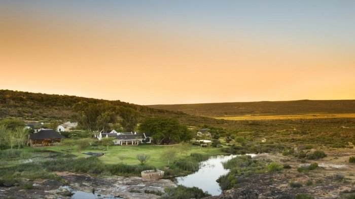 Bushmans Kloof Wilderness Reserve and Wellness Retreat, Cederberg, Afrika Selatan.