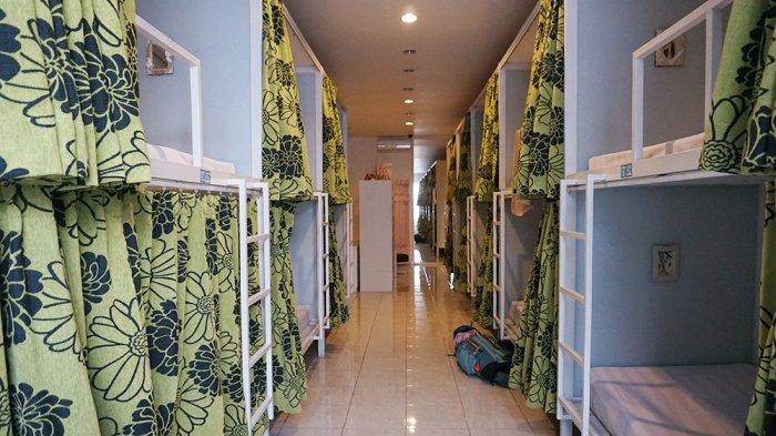 Mirip Penginapan di Jepang, Inikah Hostel Berkonsep Kapsul Pertama di Malang?
