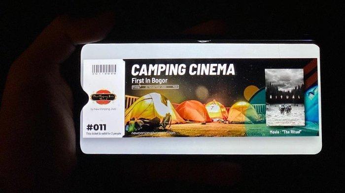 Harga Tiket Masuk Camping Cinema di Bogor, Bioskop Luar Ruangan Seru untuk Liburan Akhir Tahun 2020