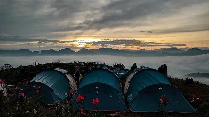 Camping ground Taman langit Pangalengan