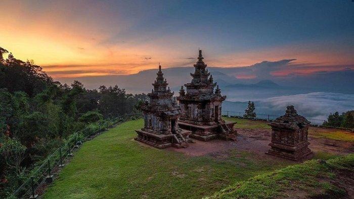 Libur Lebaran, Wisata Candi Gedongsongo Semarang Tutup Mulai 9 Mei 2021