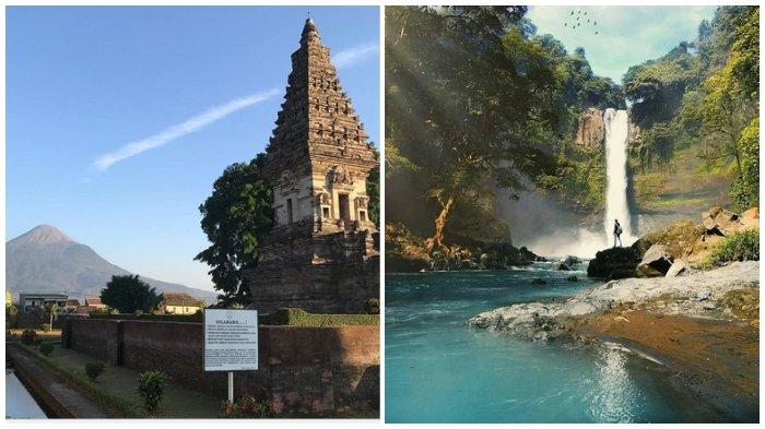 Candi Jawi dan Coban Baung, Pasuruan, Jawa Timur