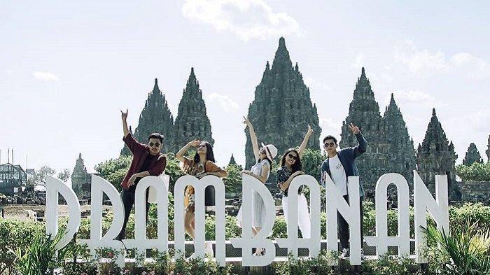 Hadapi New Normal, Pengunjung Wisata Candi Borobudur, Prambanan dan Boko Bakal Pakai Stiker Penanda