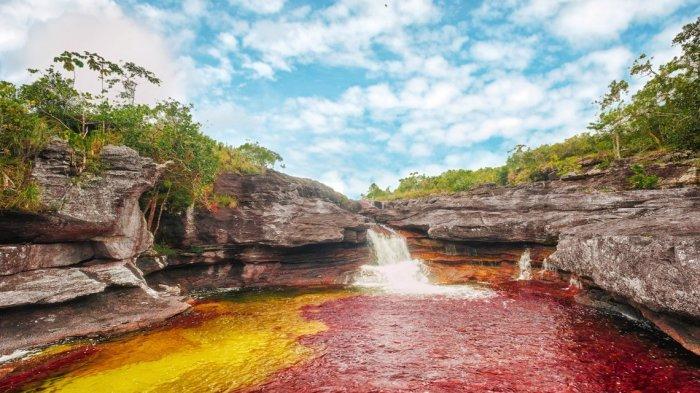 Potret 10 Fenomena Alam di Dunia yang Luar Biasa Memukau, Ada Sungai Lima Warna di Kolombia