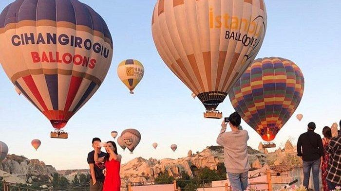 5 Tempat Wisata Honeymoon Romantis di Turki, Ajak Pasangan Naik Balon Udara di Cappadocia
