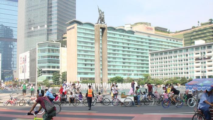 Car Free Day Sudirman-Thamrin dan Bekasi Diliburkan Sementara Jelang Pelantikan Jokowi-Ma'ruf Amin