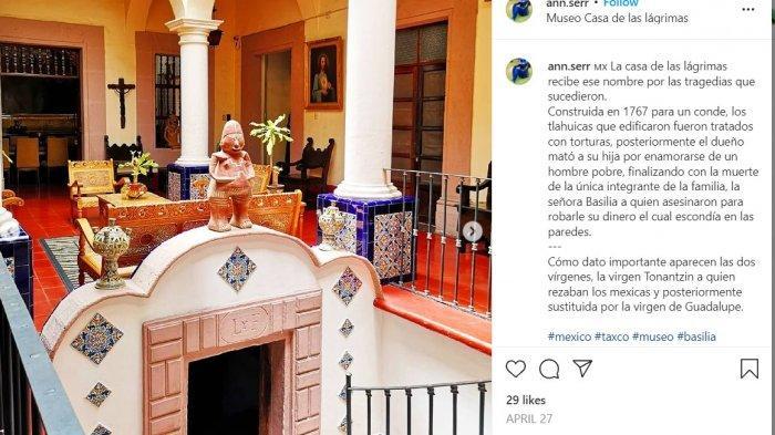 Dijuluki Rumah Terkutuk, Bangunan di Meksiko Ini Punya Ruang Rahasia dan Terowongan Tersembunyi