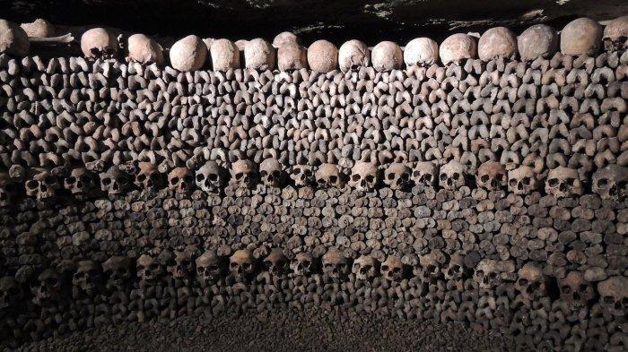 Fakta Unik Catacombs, Terowongan di Paris Prancis yang Berisi Jutaan Tengkorak Manusia
