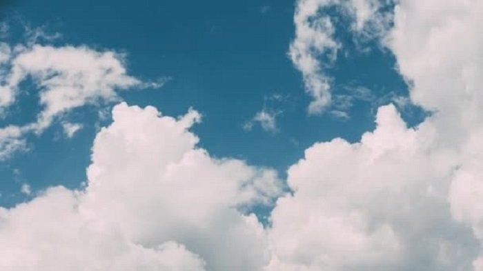 Ilustrasi cuaca Cerah Berawan