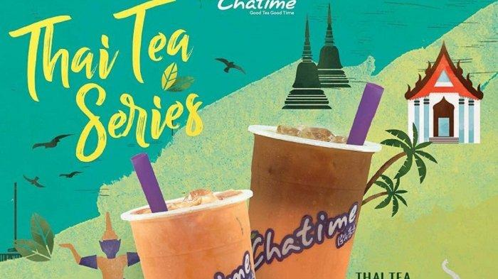 Promo Chatime Hari Ini - Modal Rp 10 Ribu dapat Segelas Thai Tea, Cek Cara Daftar Jadi Member