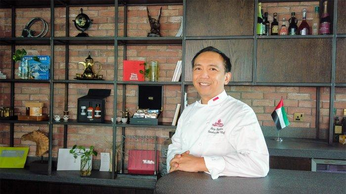 Chef Rury Koswara, Executive Sous Chef - Productions Pastry & Bakery di Emirates Flight Catering.