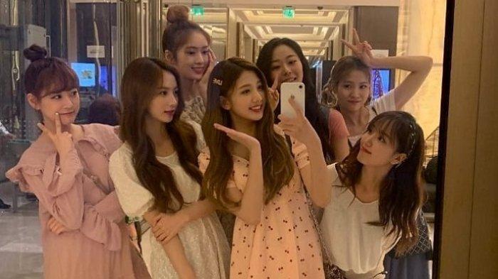 Girlband Cherry Bullet Kesulitan Pulang ke Korea dari Filipina karena Erupsi Gunung Taal