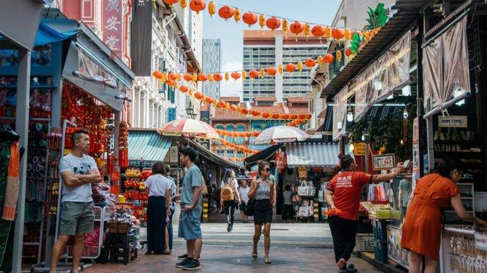 Chinatown, Singapura.