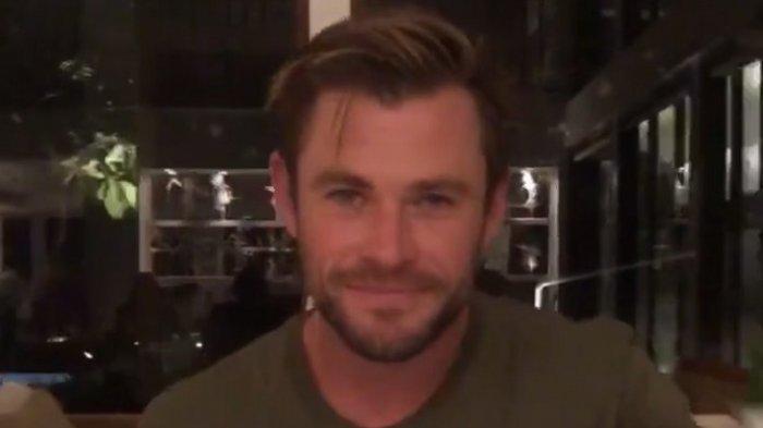 Chris Hemsworth ke Bali