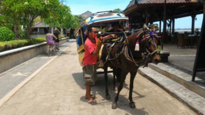 Keliling Gili Trawangan Naik Cidomo, Kendaraan Tradisional Mirip Dokar yang Jadi Ikon Wisata