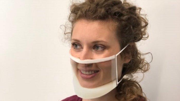 Unik, Perusahaan Ini Luncurkan Produk Masker Transparan yang Canggih