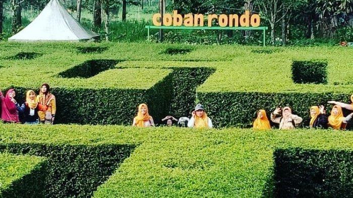 Coban Rondo, tempat wisata di Malang