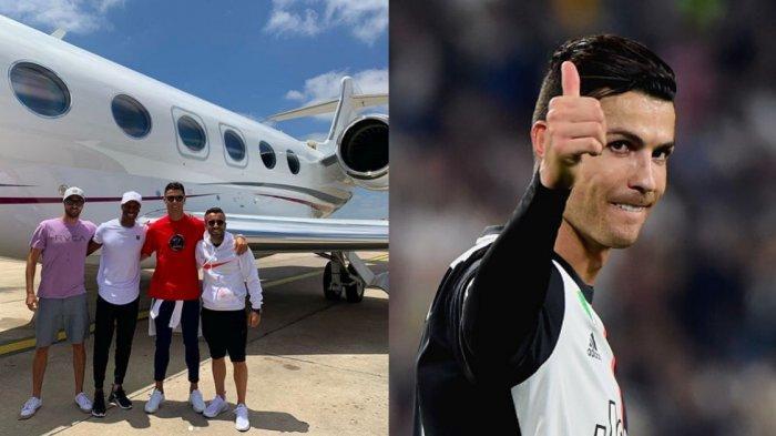 Mengintip Mewahnya Jet Pribadi Cristiano Ronaldo Senilai Rp 359 M, Diproduksi Terbatas 250 Unit