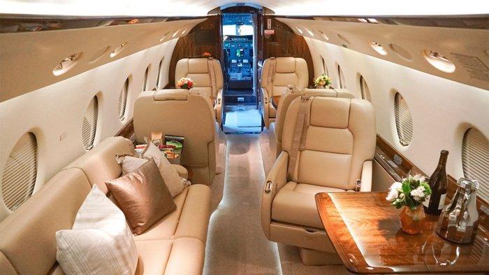 Potret Mewahnya Jet Pribadi Cristiano Ronaldo, Diproduksi Terbatas dengan Harga Rp 359 Miliar