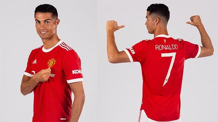 Manchester United Kehabisan Stok, Jersey Cristiano Ronaldo dengan Nomor Punggung 7 Bakal Langka