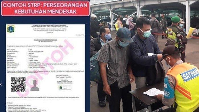 Panduan Cara Membuat STRP, Dokumen Syarat Wajib Bagi Penumpang KRL dan Keluar Masuk Jakarta