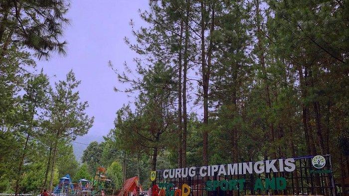Curug Cipamingkis, Wisata Air Terjun Dekat Nirvana Valley Resort yang Punya Penginapan Instagramable