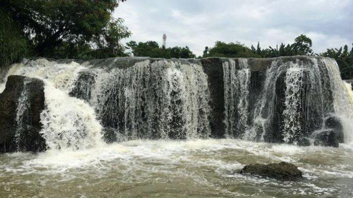 Fakta Unik Curug Parigi, Air Terjun Mirip Niagara yang Terbentuk karena Ulah Manusia