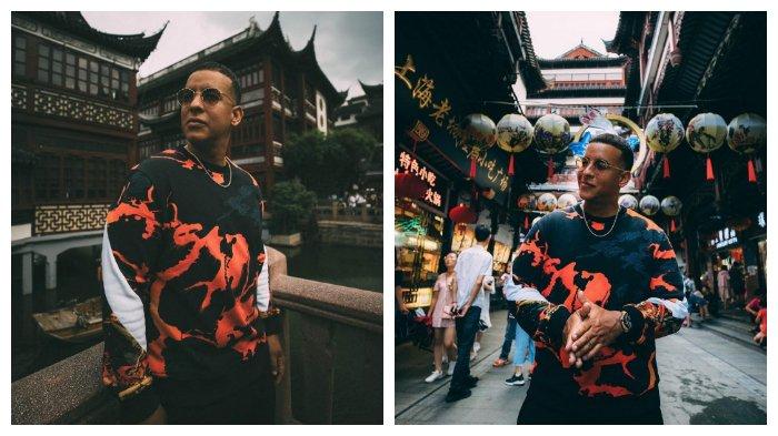 Penyanyi 'Despacito' Daddy Yankee Liburan ke China, sambil Belajar Nyanyikan Lagu Bahasa Mandarin