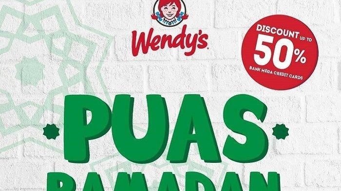 Promo Wendy's Spesial Ramadan 2019, Tawarkan 4 Paket Bukber Harga Mulai dari Rp 20 Ribu