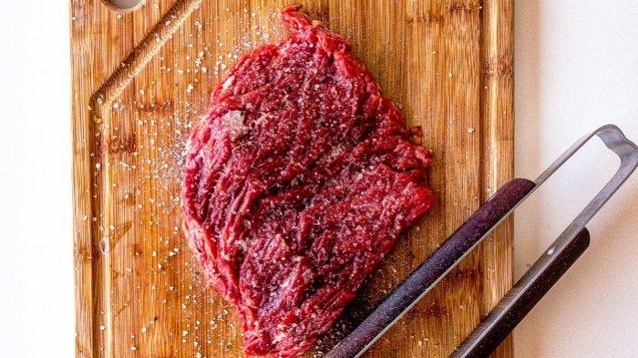 Ilustrasi daging sapi.