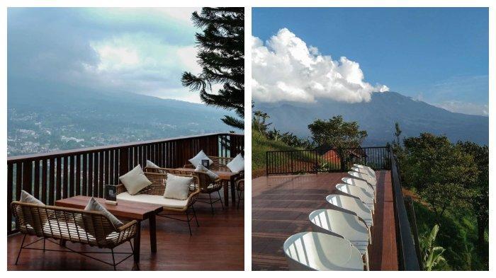 Bersantap dengan View Pegunungan di Damar Langit, Wisata Puncak Bogor yang Lagi Viral di Medsos
