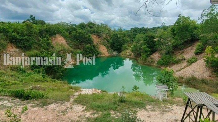 Harga Tiket Masuk Danau Biru di Banjarbaru, Bekas Tambang yang Diubah Jadi Tempat Wisata