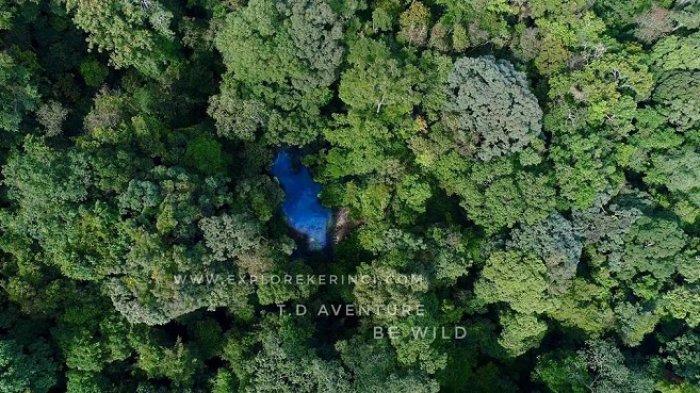 Mengulik Legenda Tragis Dibalik Keindahan Danau Biru Kaco di Taman Nasional Kerinci Seblat, Jambi