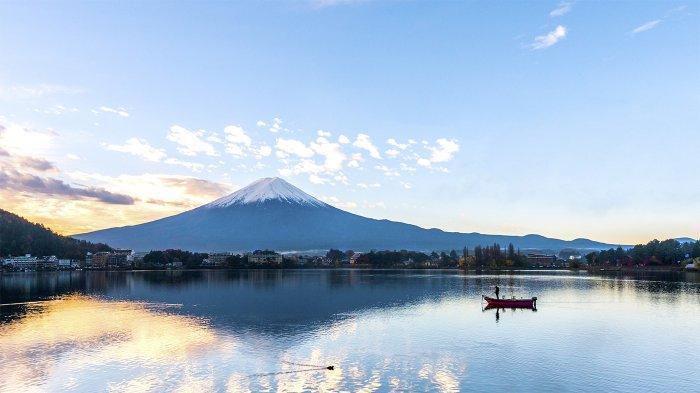 Lagi Hits di Instagram, Pemandangan Gunung Fuji ala Indonesia di Embung Kledung Temanggung