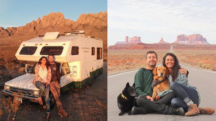 Gemar Liburan, Pasangan Ini Hidup Nomaden dengan Mobil RV dan Kunjungi Banyak Tempat di AS