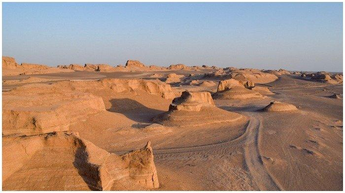 Bukan Gurun Sahara, Gurun Lut di Iran Pegang Rekor Sebagai Tempat Paling Panas di Dunia