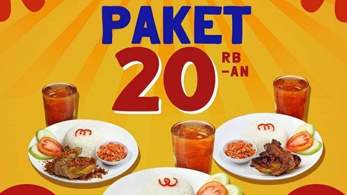 Promo Makan Hemat D'Cost Cuma Rp 20 Ribuan, Dapat Free Es Teh Manis dan Refill Nasi
